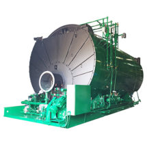 picture of industrial 3 pass boiler